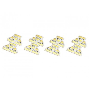 Sticker Circuito RYB LED - Paquete 24LEDs