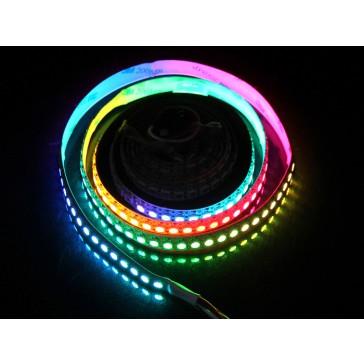 WS2812B Tira Flexible de LEDs RGB 144 LED - 1 Metro