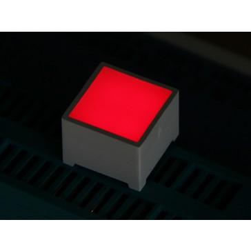 15*15mm LED Cuadro - Rojo