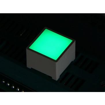 15*15mm LED Cuadro - Verde