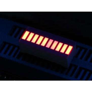 LED 10 Segmentos - Rojo