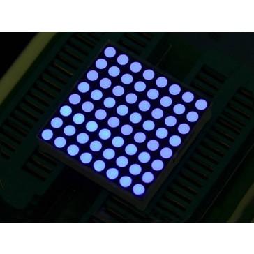 32mm 8x8 Cubo Matrix LED Azul- Ánodo Común