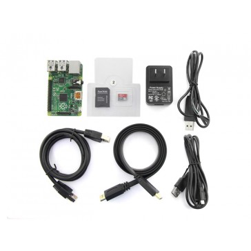 Kit de inicio rápido con Raspberry Pi B+