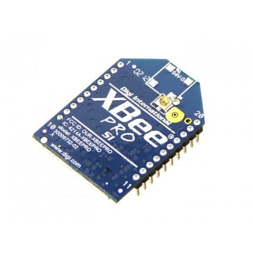 Xbee Pro IEEE 802.15.4 2.4Ghz 63mW 250Kbps RF Módulo con Conector de Antena U.FL - XBP24-AUI-001J
