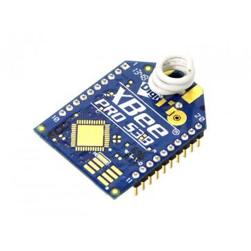 Módulos Xbee Pro RF  928MHz 200Kbps 20-Pin w/ Cortex-M3 EFM32G230 @28MHz - XBP9B-DMWT-022