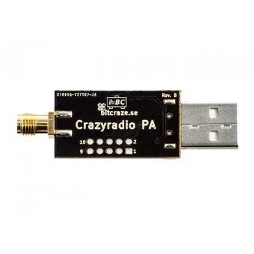 Crazyradio PA- USB de largo alcance de 2.4GHz con antena