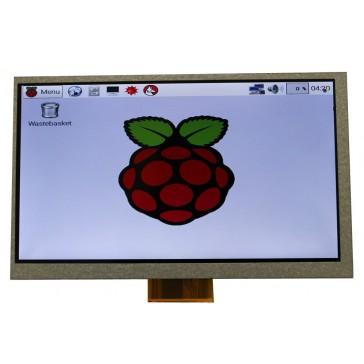 """Display LCD TFT 7"""" 800 x 480 para Raspberry Pi B+"""