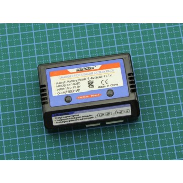 Cargador De Bateria, 2-3s - Li-poly (Última pieza)