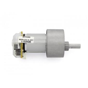 Motor de DC con reducción y encoder