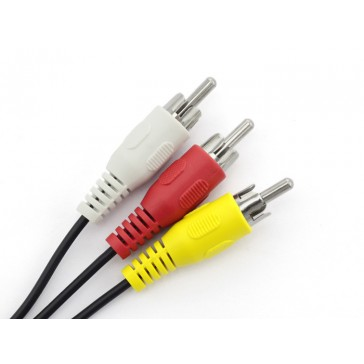 Cable Adaptador 3.5 mm Jack a 3 RCA - 150mm