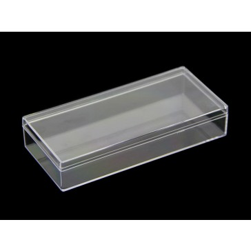 PS(Poliestireno) Caja transparente - 140x65x25 mm