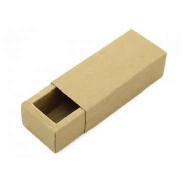 Estuche de papel madera - 124x54x37 mm