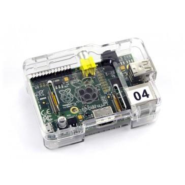 Estuche Transparente PS para Raspberry Pi