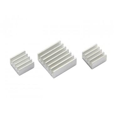 Kit Heatsink de Aluminio para Raspberry Pi