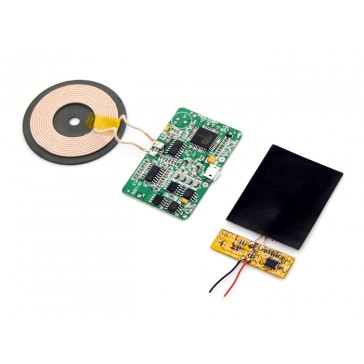 Kit para módulo cargador inalámbrico QI - 5V/1A
