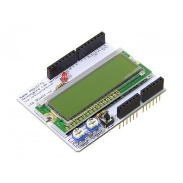 LCD Shield Kit - Negro en Verde