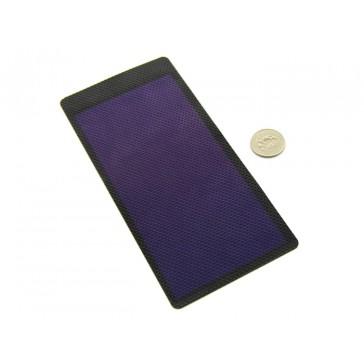 2V 1W Panel solar flexible de película delgada