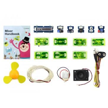 Paquete Mixer V2 (Bloques electrónicos, sin Arduino, sistema Plug-n-Play)