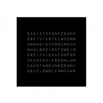 Reloj THREEjr (con placa frontal negra) version alemana