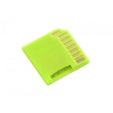 Micro SD Card adaptador para Raspberry & Macbooks - Verde
