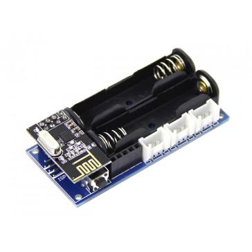 Sensor DevDuino Node V2 (ATmega 328) - porta pilas AAA