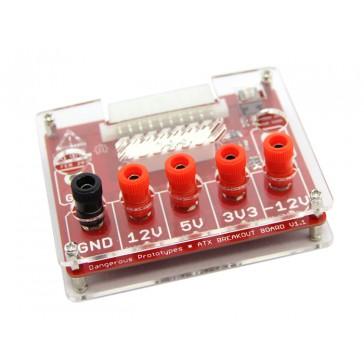 Carcasa de acrílico V1 para placa ATX V1.1 (DP10080)