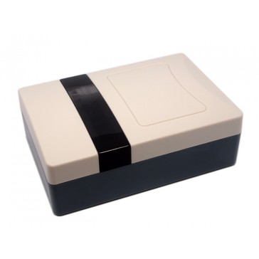 Práctica carcasa de plastico de 56x110x160mm
