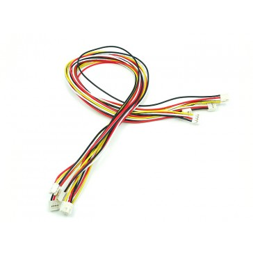 Grove - Cable universal abrochado de 4 Pines y 50cm (5 PCs/Paquete)