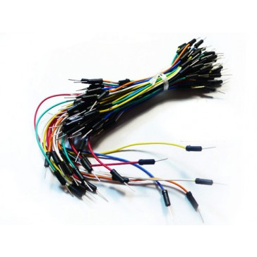 Breadboard Jumper Cable Pack (200mm/165mm/125mm/80mm)
