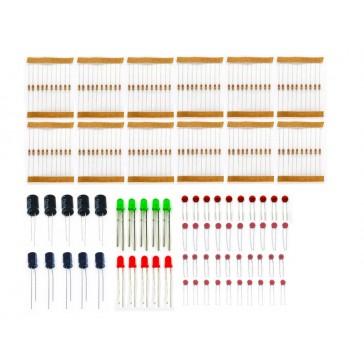 20 en 1! Paquete de componentes básicos mixto