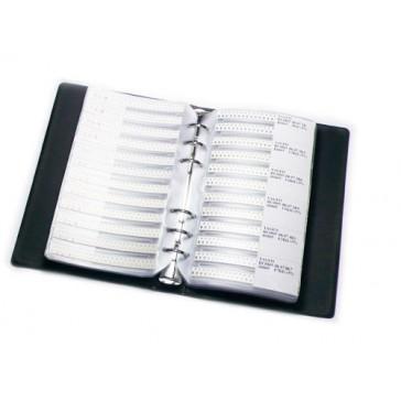 Libro de la muestra de resistencias 0805 SMD - 8496 unidades en 177 valores (envío gratis)