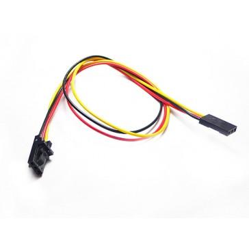Electronic brick-Half cinturón cable de 3 hilos (paquete de 5 piezas)