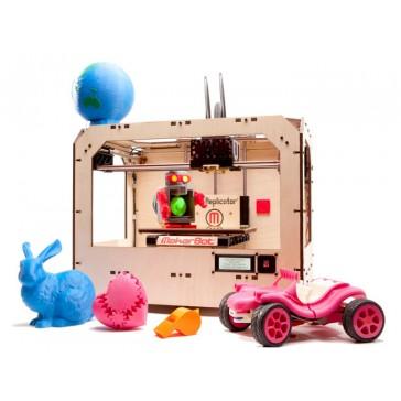 MakerBot replicador de doble extrusión (impresión a 2 colores)