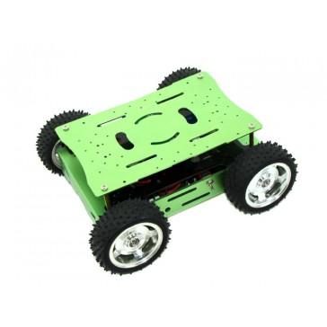 Plataforma Robótica Hercules Skeleton Bot - 4WD