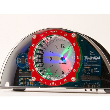 Kit de reloj Bulbdial - LED escritorio / manto kit reloj sombra soldadura