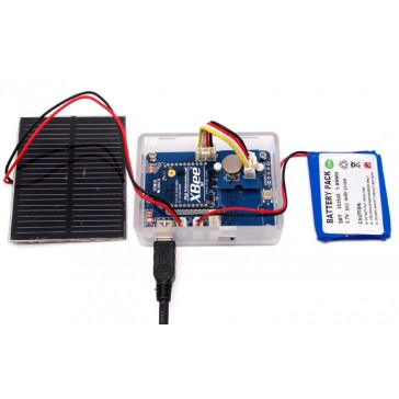 Nodo de sensor inalámbrico - Kit Solar