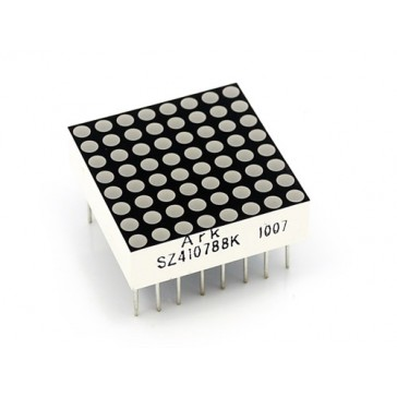 Matriz LED 8*8 de 20mm  - Roja