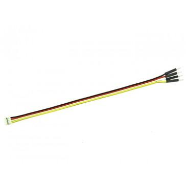 Grove - Cable jumper de 4 pines macho a Grove - Cable de conversion  (5 piezas por cable)