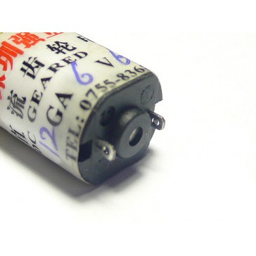 Motor reductor p12 6V 60rpm
