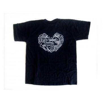 Camiseta Seeed - Corazón Geek - XXL(Europa) 1