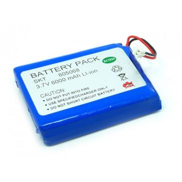 Paquete de Batería de Iones de polímero de Litio - 6A