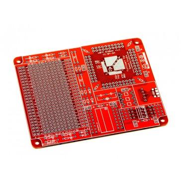 Superficie de montaje de protoboard QFP - 0.80mm + 0.50mm