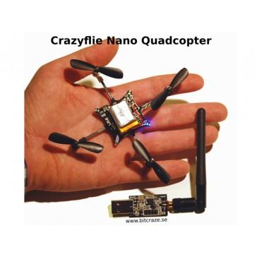 Kit para Crazyflie Nano Quadcopter - 10-DOF con Crazyradio (BC-CFK-02-B)