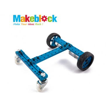 Kit de robot configurable 2WD Makeblock-Azul