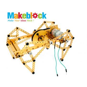 Kit Robot 4 piernas - Makeblock- Dorado