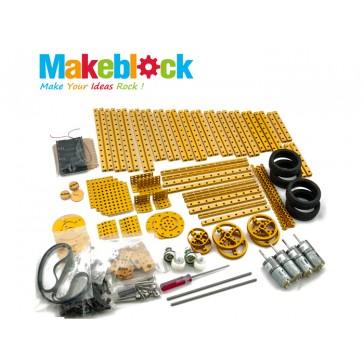 Kit de Robótica Novedoso y Completo Makeblock – Dorado