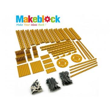 Kit de extensión de estructuras Makeblock - Dorado