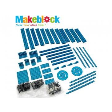 Kit de extensión para estructuras MakeBlock - Azul