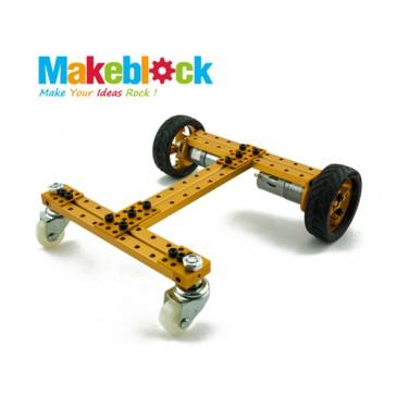 Kit de Robot configurable de Doble Tracción 2WD - Dorado