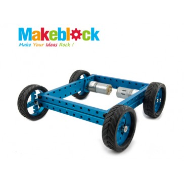 Kit de robot configurable 4WD Makeblock-Azul
